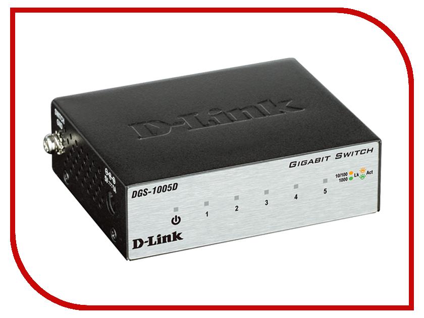 Коммутатор D-Link DGS-1005D/H2A<br>