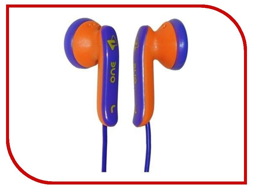 Наушники Fischer Audio JB One Violet-Yellow<br>
