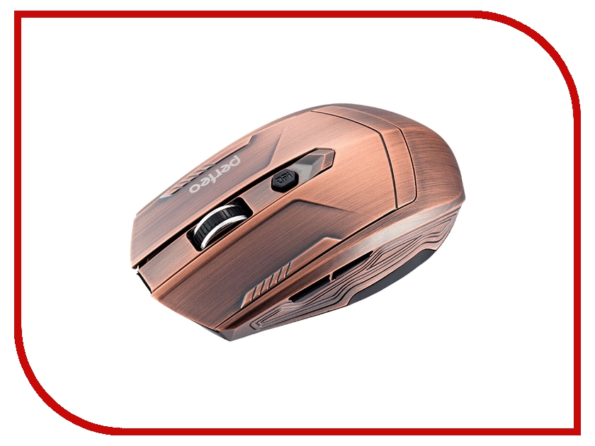 Мышь беспроводная Perfeo PF-111-Cu Metallic USB