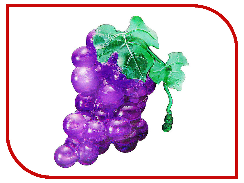 3D-пазл Crystal Puzzle Виноград 90120
