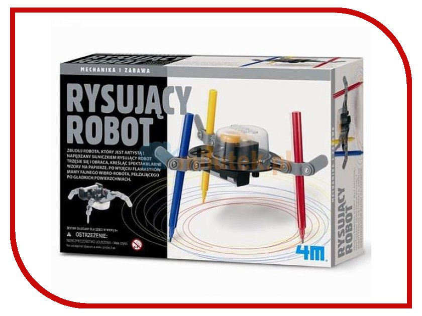 Конструктор 4M Робот художник 00-03280 4m 4m электростатическая магия