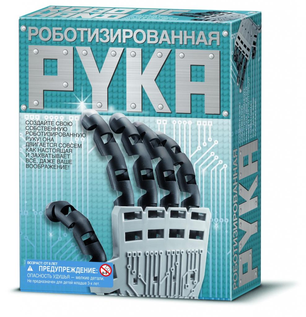 все цены на Конструктор 4M Роботизированная рука 00-03284