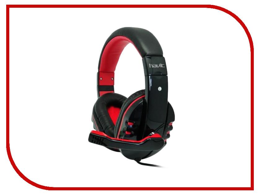 Гарнитура Havit HV-H611D Black-Red<br>