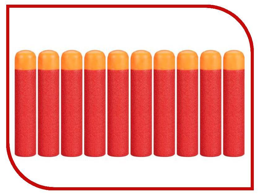 Игрушка Hasbro NERF Набор стрел 10шт для бластеров МЕГА A4368E24 hasbro комплект 10 стрел для бластеров мега nerf