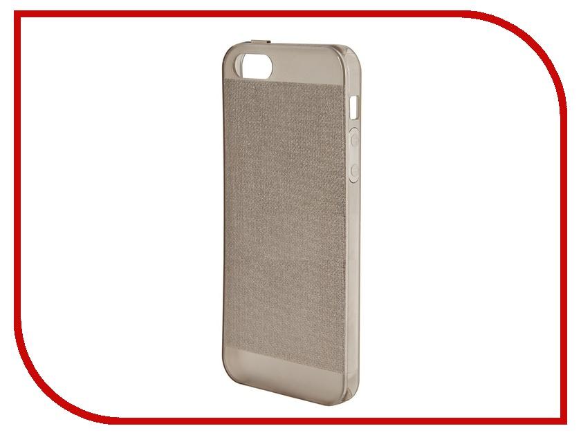 Аксессуар Чехол Just Case Shining Series for iPhone 5 Black<br>