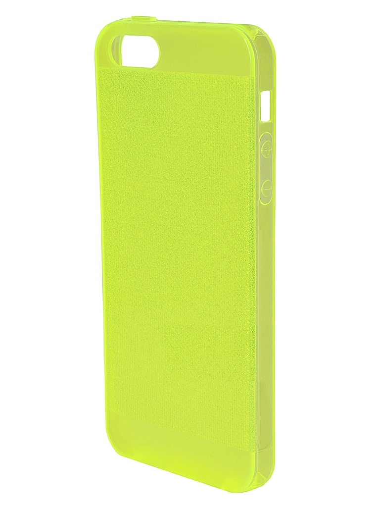 Аксессуар Чехол Just Case Shining Series для iPhone 5 Yellow<br>