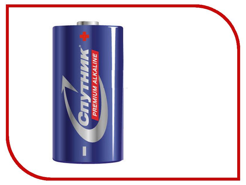 Батарейка C - Спутник Premium Alkaline LR14/2B PALRLR14/2B