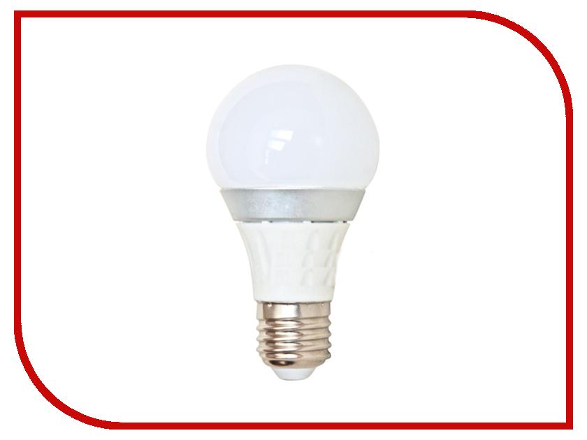 Лампочка Спутник LED A60 E27 7W 220V 4000K 16-A60-7W-E27<br>