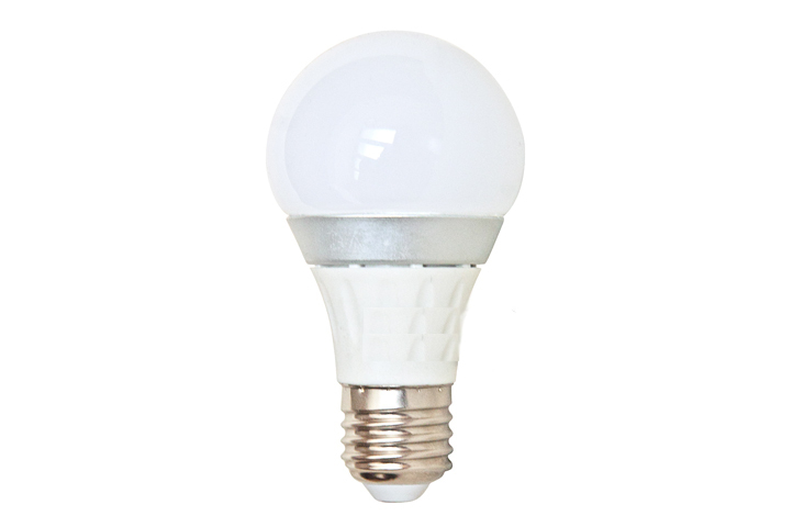 Лампочка Спутник LED A60 E27 5W 220V 4000K 420Lm Daylight 16-A60-5W-E27