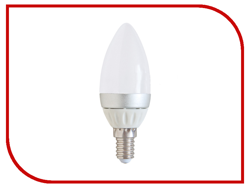 Лампочка Спутник LED C37 E14 4W 220V 4000K 16-C37-4W-E14
