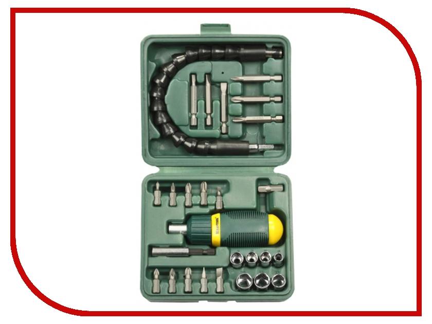 Отвертка Kraftool 25556-H27 отвертка реверсивная с битами и торцевыми головками kraftool 25556 h27