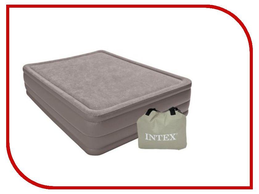 Надувной матрас Intex Foam Top 152x203x51cm 67954 надувной матрас intex 191x76x15cm 64790
