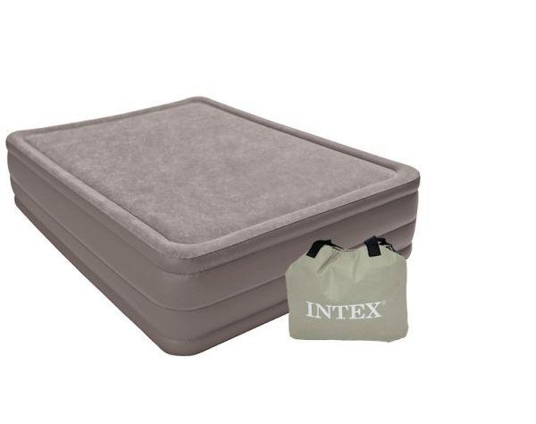 Надувной матрас Intex Foam Top 152x203x51cm 67954 intex 64468 foam top bed 152x203x51