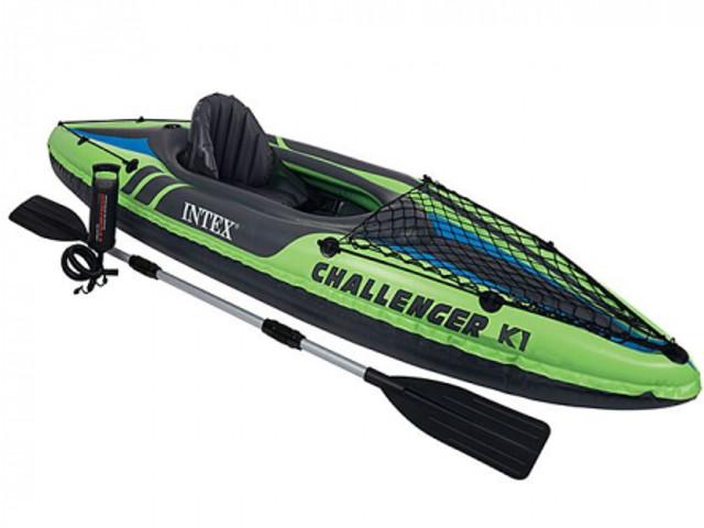 Лодка Intex Challenger K1 68305