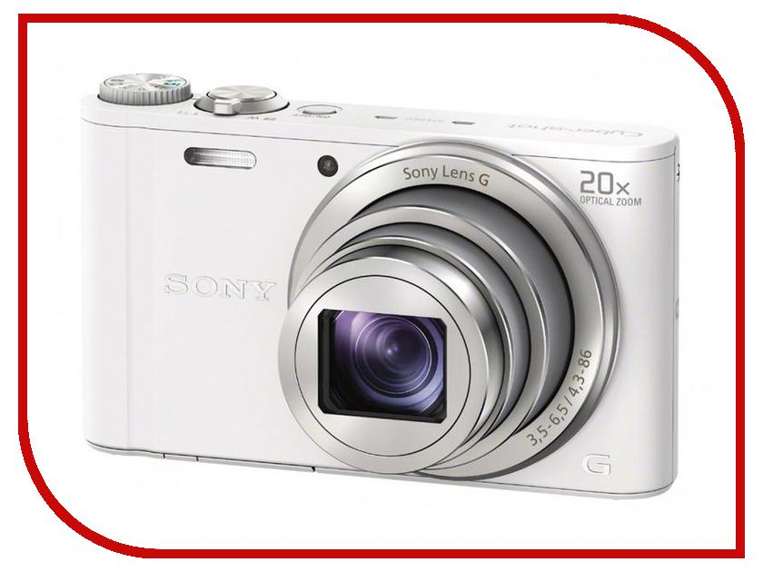 Фотоаппарат Sony DSC-WX350 Cyber-Shot White компактный цифровой фотоаппарат sony dsc wx350 black