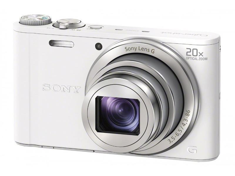 цена на Фотоаппарат Sony DSC-WX350 Cyber-Shot White
