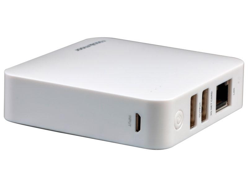 Wi-Fi роутер Ross&Moor PB-X5 5200mAh White