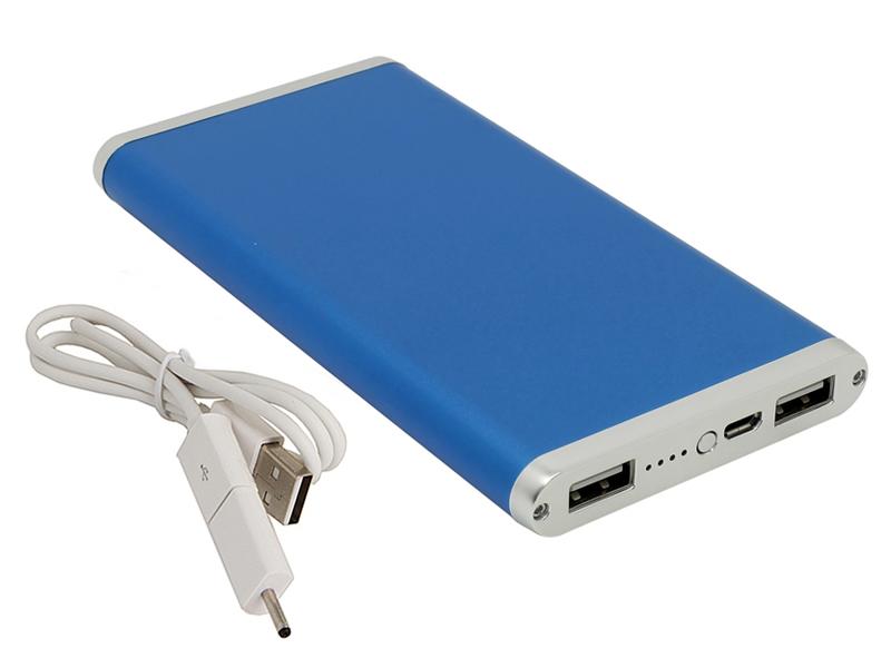 Внешний аккумулятор Ross&Moor PB-MS014 10000mAh Blue