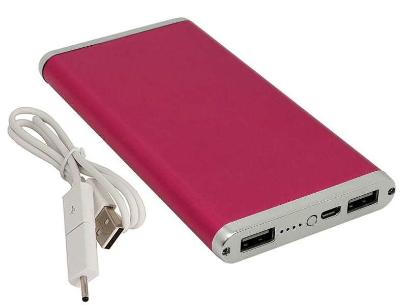 цена на Внешний аккумулятор Ross&Moor Power Bank PB-MS014 10000 mAh Pink
