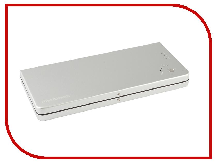 Аккумулятор Ross&Moor PB-12000 12000mAh Silver pb ls010 ross&moor