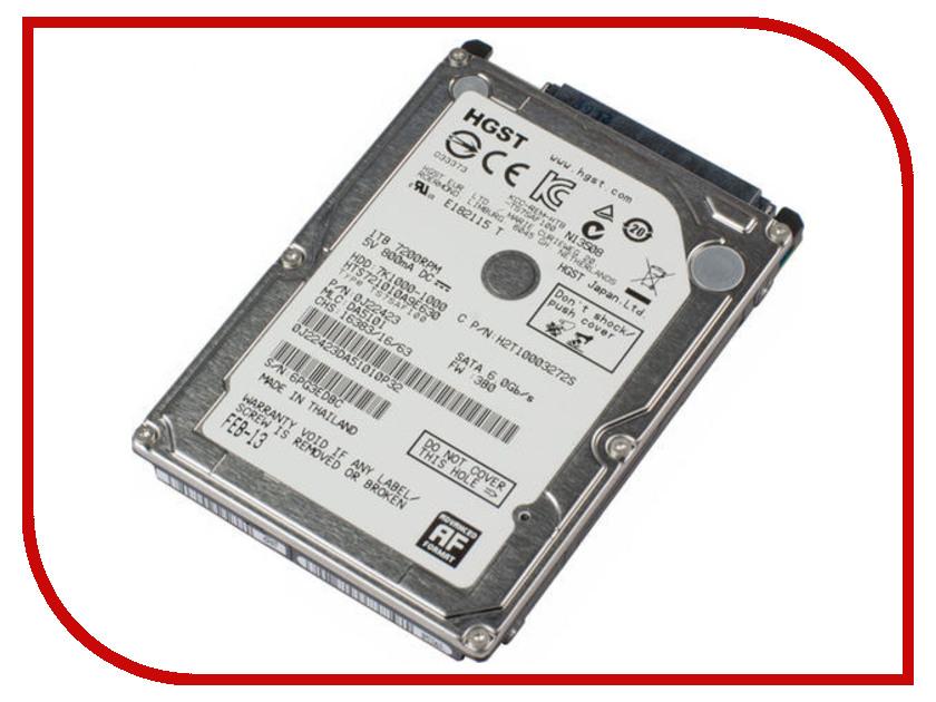 Жесткий диск 1Tb - HGST / Hitachi Travelstar 7K1000 HTS721010A9E630 / HT0J22423 жесткий диск hitachi hts721010a9e630