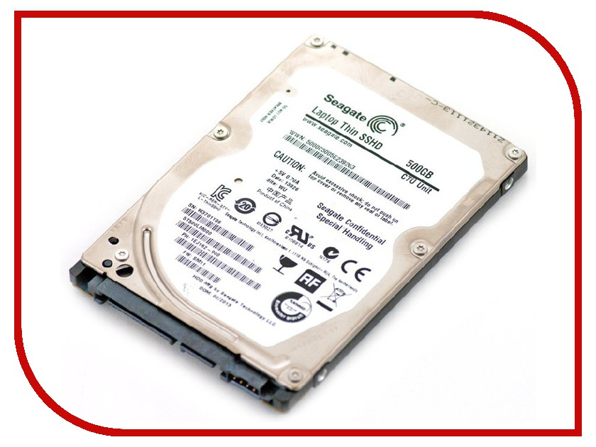 Жесткий диск 500Gb - Seagate ST500LM000 Laptop Thin SSHD<br>