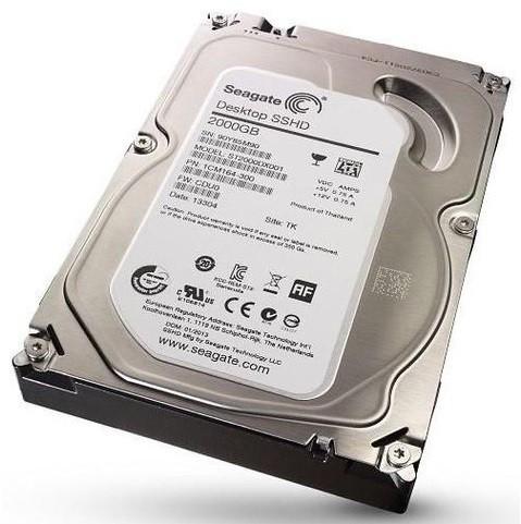 Жесткий диск 2Tb - Seagate ST2000DX001 Desktop SSHD