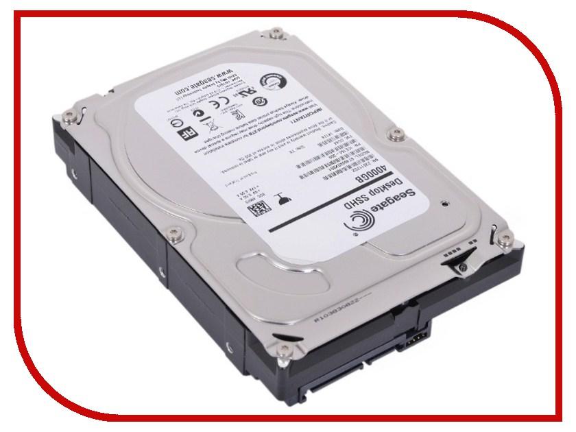 Жесткий диск 4Tb - Seagate ST4000DX001 Desktop SSHD<br>