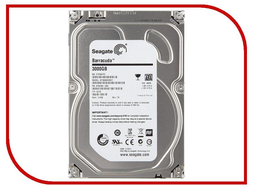 Жесткий диск 3Tb - Seagate ST3000VM002 Video 3.5 жесткий диск 4tb seagate st4000vm000 video 3 5