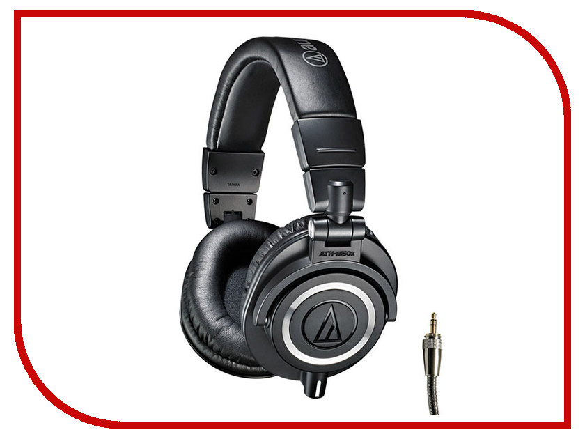 Audio-Technica ATH-M50X Black audio technica ath m50x black
