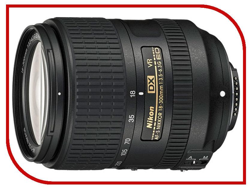Объектив Nikon Nikkor AF-S 18-300 mm F/3.5-6.3 G ED DX VR