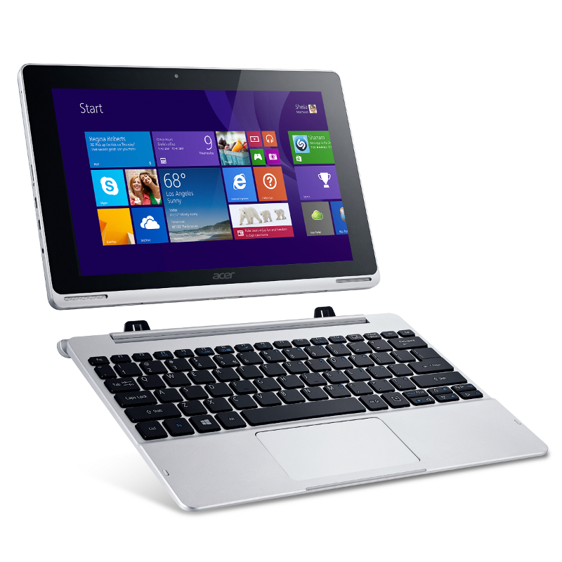 Планшет Acer Aspire Switch 10 64Gb SW5-012-11RU NT.L7YER.001 Intel Atom Z3735F 1.3 GHz/2048Mb/64Gb/Wi-Fi/Bluetooth/Cam/10.1/1280x800/Windows 8.1