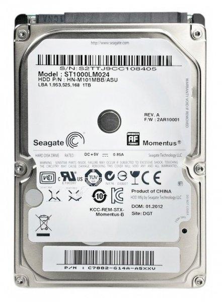 Жесткий диск 1Tb - Seagate / Samsung Momentus ST1000LM024