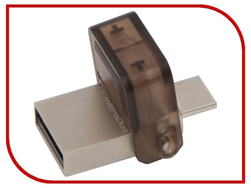 USB Flash Drive 16Gb - Kingston DataTraveler microDuo DTDUO/16GB usb flash drive photofast evo plus 16gb