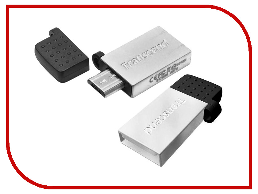 USB Flash Drive 16Gb - Transcend JetFlash 380S TS16GJF380S transcend jetflash 500 16gb