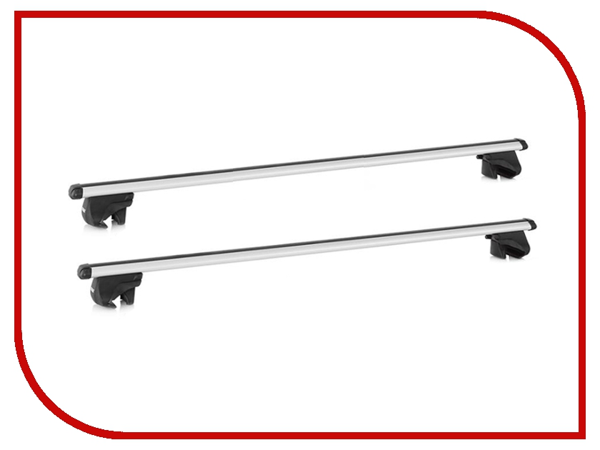Багажник Thule Smart Rack дуги аэродинамические для а/м с рейлингами 120 см упоры thule 775 для автомобилей с широкими рейлингами