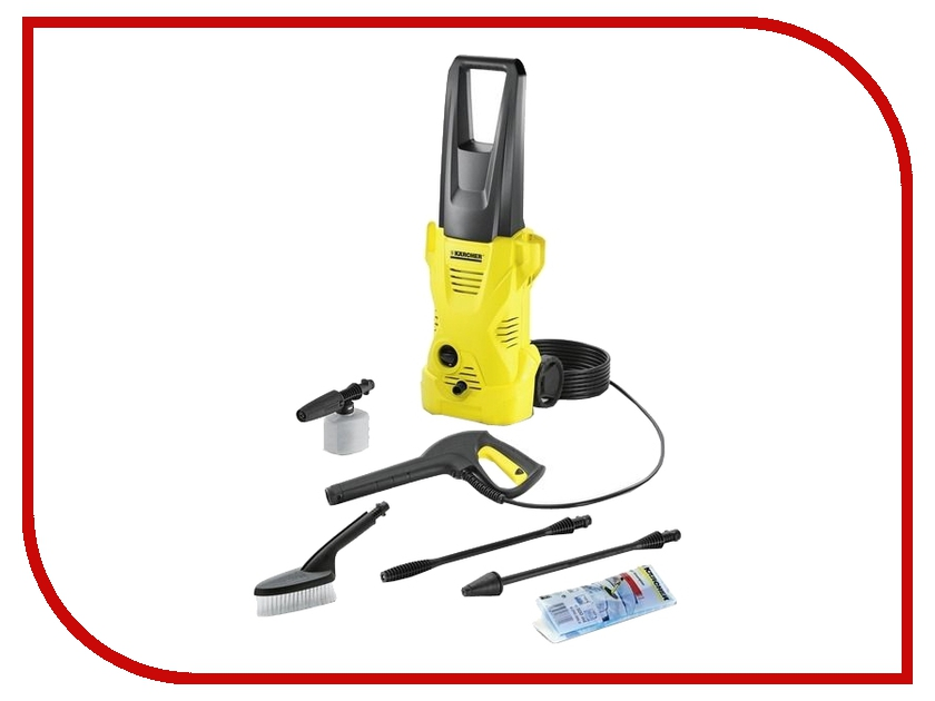 Мойка Karcher K2 Car 1.673-228 мойка karcher k4 compact 1 637 310