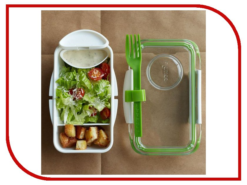 Ланч-бокс Black+Blum Bento Box Lime<br>
