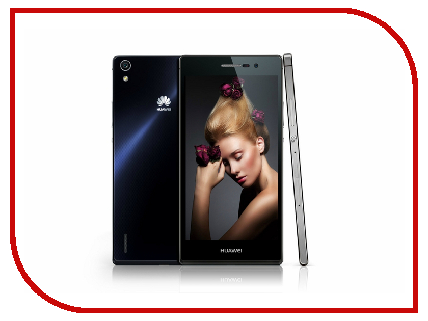 Сотовый телефон Huawei Ascend P7 Black<br>
