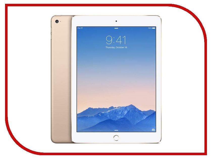 Планшет APPLE iPad Air 2 16Gb Wi-Fi Gold MH0W2RU/A<br>