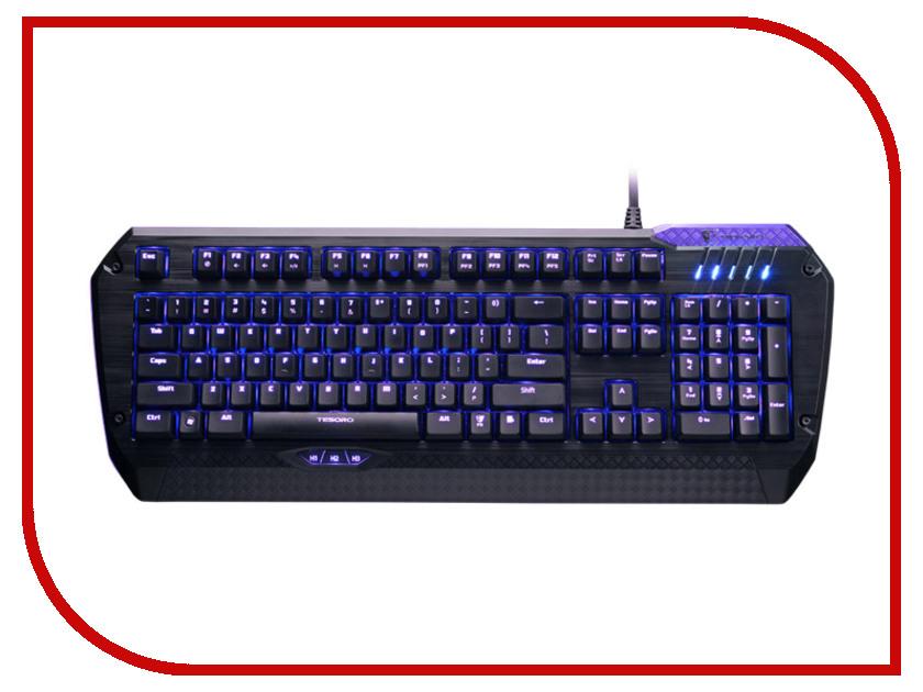 Клавиатура Tesoro Lobera Supreme TS-G5NFL Blue