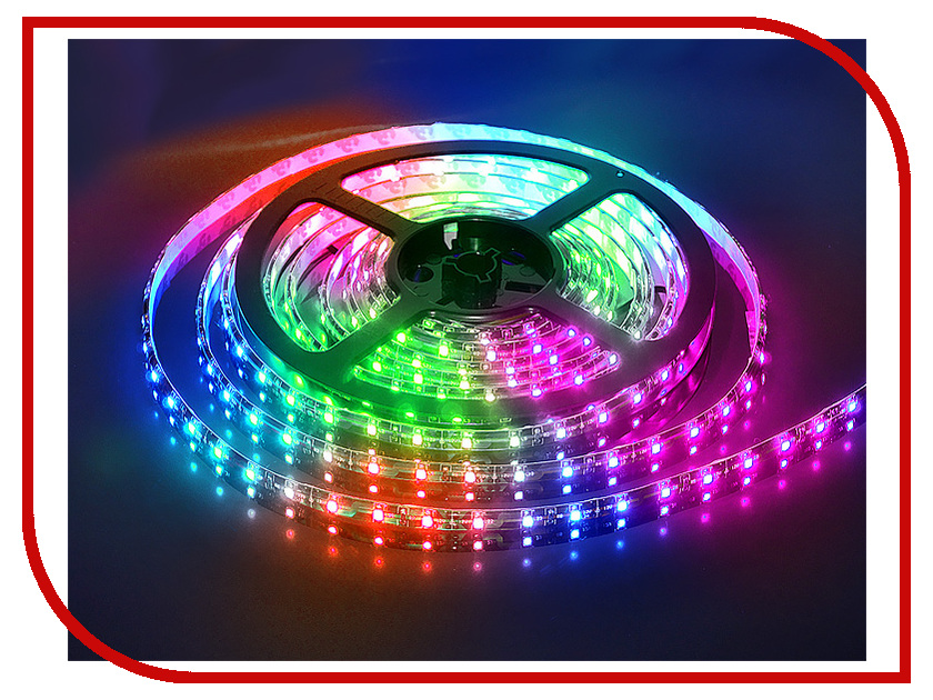 Светодиодная лента LUNA LSW 5050 60led/m 12V 72W 5m IP65 RGB 60042 hml waterproof 72w 6300lm 300 smd 5050 led rgb light strip w mini 3 key rgb controller 12v 5m