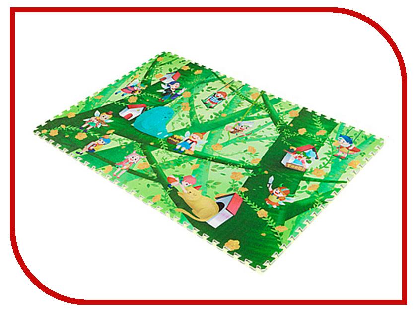 Развивающий коврик Mambobaby Лесные эльфы двухсторонний 70006