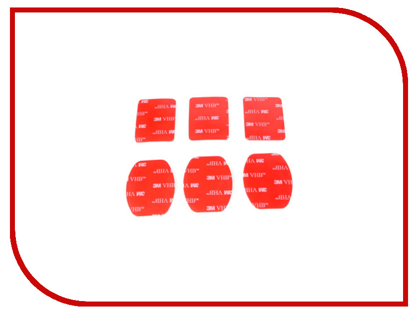 Аксессуар Набор двухсторонних клейких лент Fujimi GP 3M VHB-4991 аксессуар fujimi gp brk 005 для gopro набор креплений и клейких лент