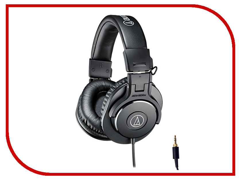 Audio-Technica ATH-M30X audio technica audiophile open air headphones