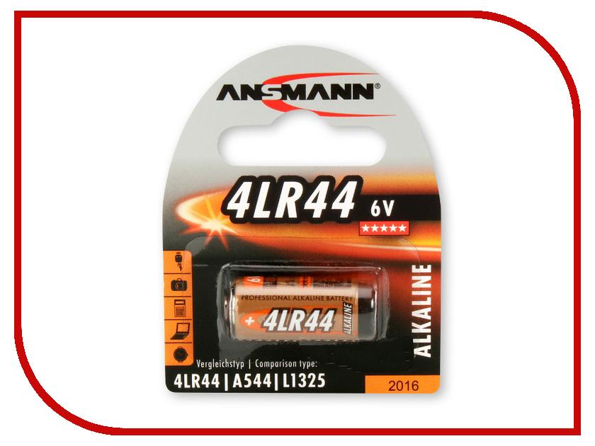 Батарейка Ansmann 4LR44 6V BL1 1510-0009 батарейка cr2354 ansmann 1516 0012 bl1