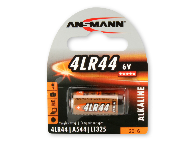 Батарейка Ansmann 4LR44 6V BL1 1510-0009