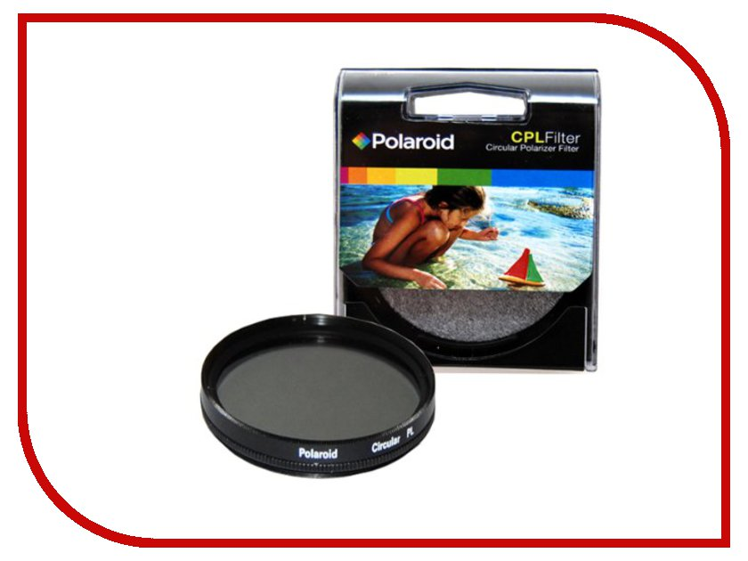 Светофильтр Polaroid CPL 72mm PLFILCPL72<br>