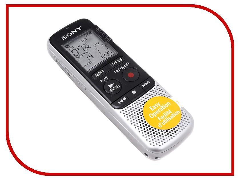 Диктофон Sony ICD-BX140 цифровой диктофон sony icd tx650b 16гб черный