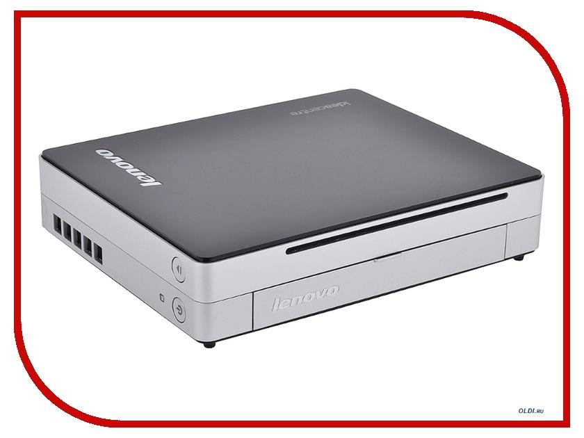Неттоп Lenovo IdeaCentre Q190 57316615 Black-Silver (Intel Celeron 1017U 1.6 GHz/4096Mb/500Gb/Intel HD Graphics/DVD-RW/Windows 8)<br>